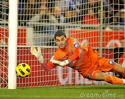 Juan Pablo Colinas of Sporting Gijon Editorial Stock Image