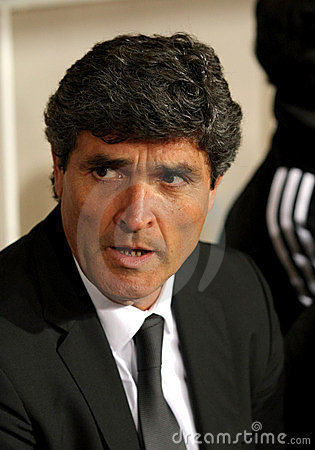 Juande Ramos of Real Madrid Editorial Image