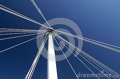 Jubilee bridge, London, UK Editorial Stock Photo