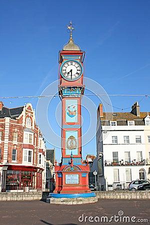 Jubilee clock tower.