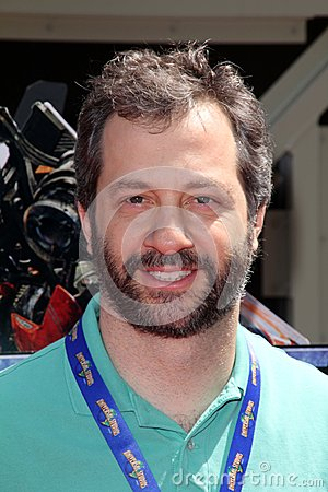 Judd Apatow at the World Premiere Of Universal Studios Hollywood s  Editorial Photography