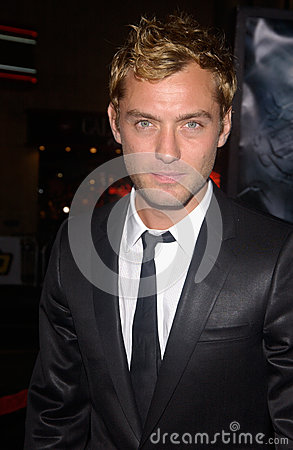 Jude Law Editorial Stock Photo