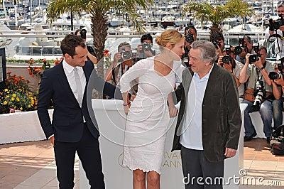 Jude Law,Robert De Niro,Uma Thurman,The Jury Editorial Photography