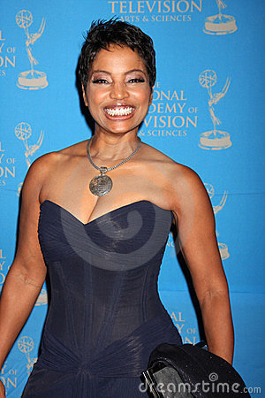 Judge Lynn Toler arriving at the 38th Annual Daytime Creative Arts & Entertainment Emmy Awards Editorial Image