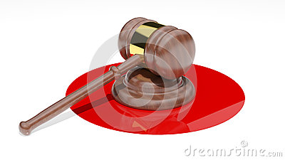 Judge's Gavel Royalty Free Stock Photography - Image: 26788327