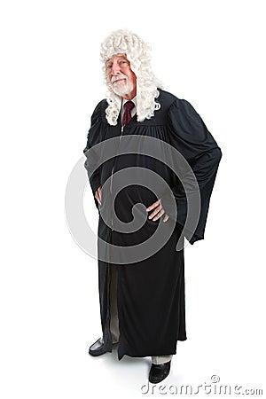 Judge in Wig - full body