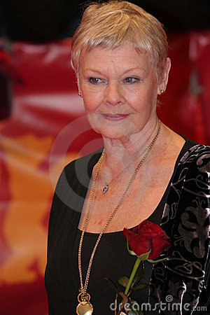 Judi Dench Editorial Photo