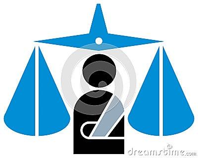 Judicial emblem