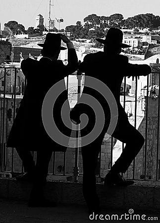 Judiska silhouettes