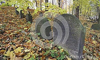 Judiskt gammalt för kyrkogård