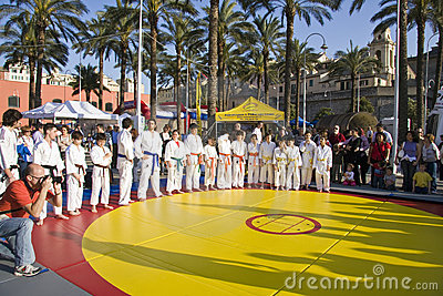 Judo camp Editorial Image