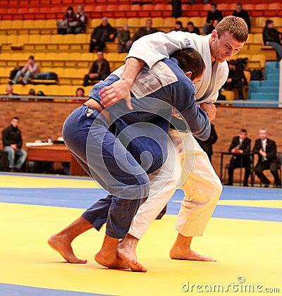 Free Judo Championship Stock Photography - 12004532