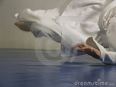 Judo fall