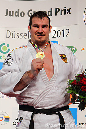 Judo Grandprix 2012 Düsseldorf Germany Editorial Photography