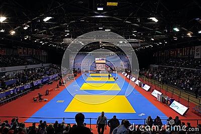 Judo Grandprix 2012 Düsseldorf Germany Editorial Photo