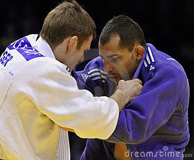 Judo Grandprix 2012 Düsseldorf Germany Editorial Photo