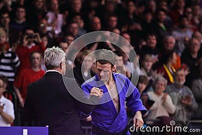 Judo Grandprix 2012 Düsseldorf Germany Editorial Image