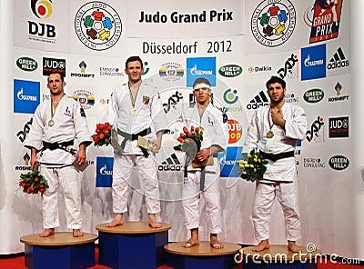 Judo Grandprix 2012 Düsseldorf Germany Editorial Stock Photo