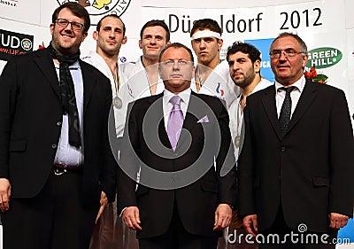 Judo Grandprix 2012 Düsseldorf Germany Editorial Stock Image