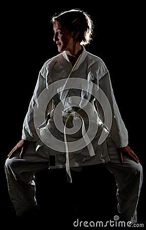 Judoka girl