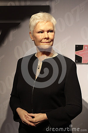 Judy Dench Editorial Stock Image