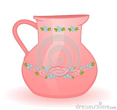 jug isolated on white
