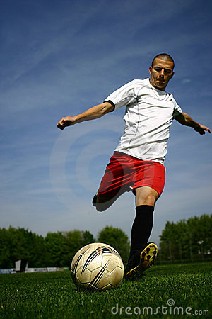 Jugador de fútbol #1