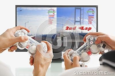 Jugando al juego junto
