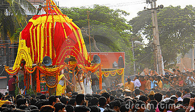 Juggernaut-Car Festival in India Editorial Image