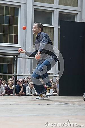 Juggler Editorial Photography