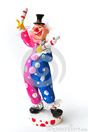 Juggler Clown figurine