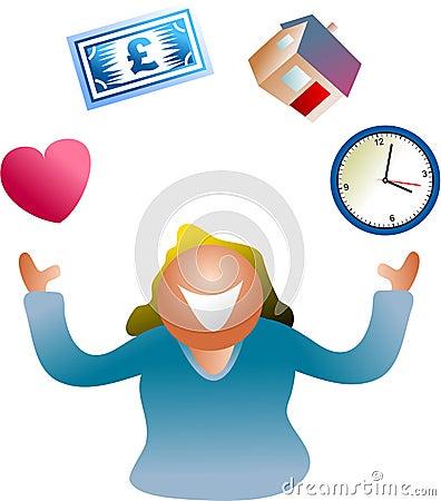 Free Juggling Life Royalty Free Stock Photos - 489898
