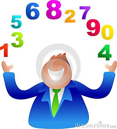 Juggling numbers