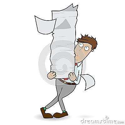 Juggling Paper Work