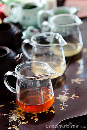 Jugs of tea