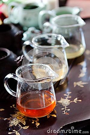 Jugs of tea