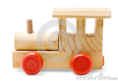 Juguete de madera del tren imagen de archivo imagen - Jugueteros de madera ...