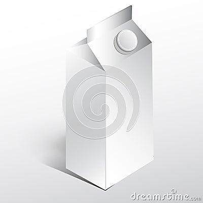 Juice paper box
