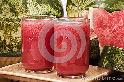 Juice of watermelon