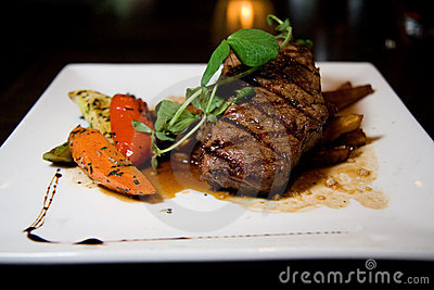 Juicy Angus Steak