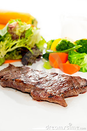 Juicy BBQ grilled rib eye ,ribeye steak