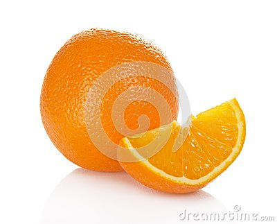 Juicy fresh orange