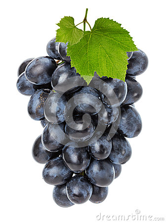 Free Juicy Grapes Isolated On The White Background Stock Images - 45572984