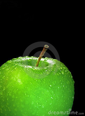 The Juicy green apple.