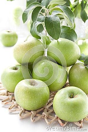 Juicy Green Apples