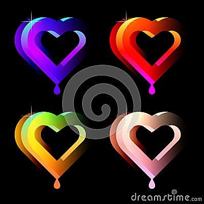 Juicy hearts