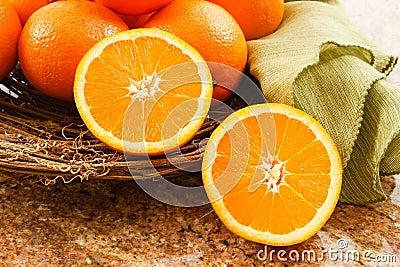 Juicy Ripe Oranges