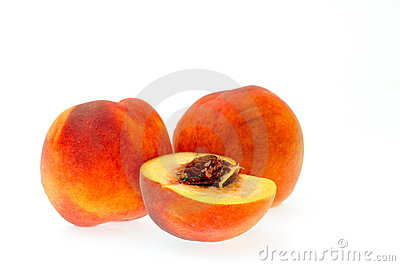 Juicy ripen peaches