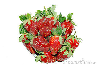 Juicy strawberry