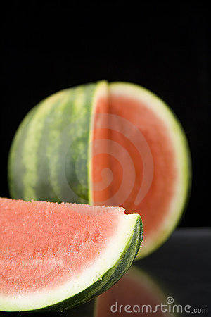 Free Juicy Water Mellon Cut Into Peices Royalty Free Stock Photo - 5515245